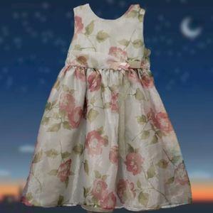 Blueberi boulevard green floral dress 6